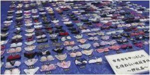 千葉県市原市、盗んだ女性の下着470枚押収