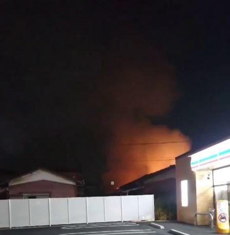 千葉県松戸市西馬橋で住宅火災発見