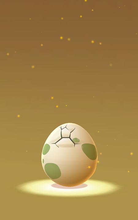 歩くことでポケモンのタマゴを孵化