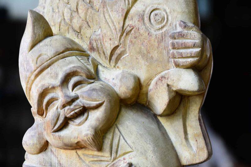 七福神の1人である恵比寿天(えびすてん)を紹介