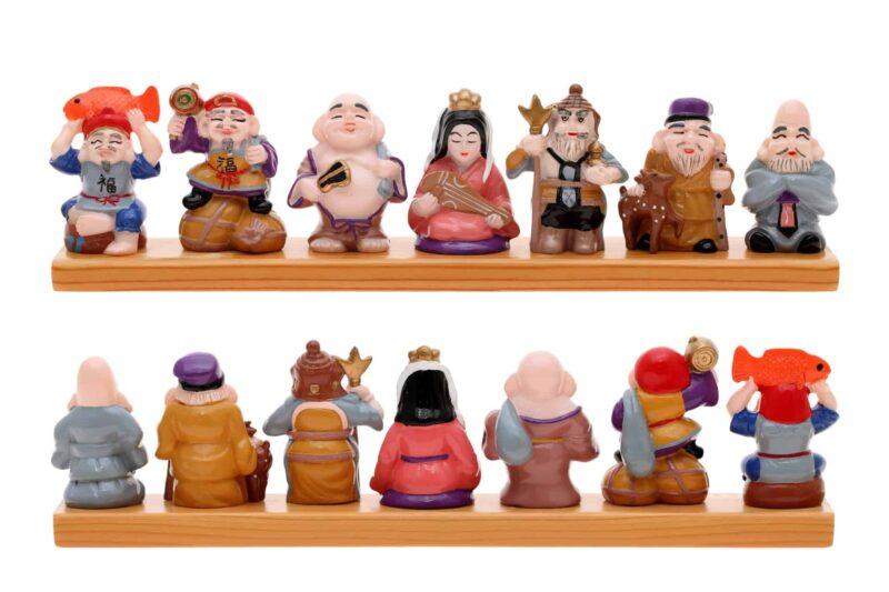 日本で福をもたらす七柱の神様といえば七福神