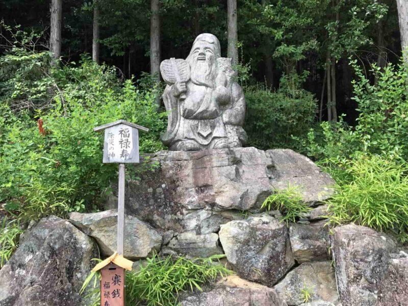 七福神の1人である福禄寿(ふくろくじゅ)を紹介