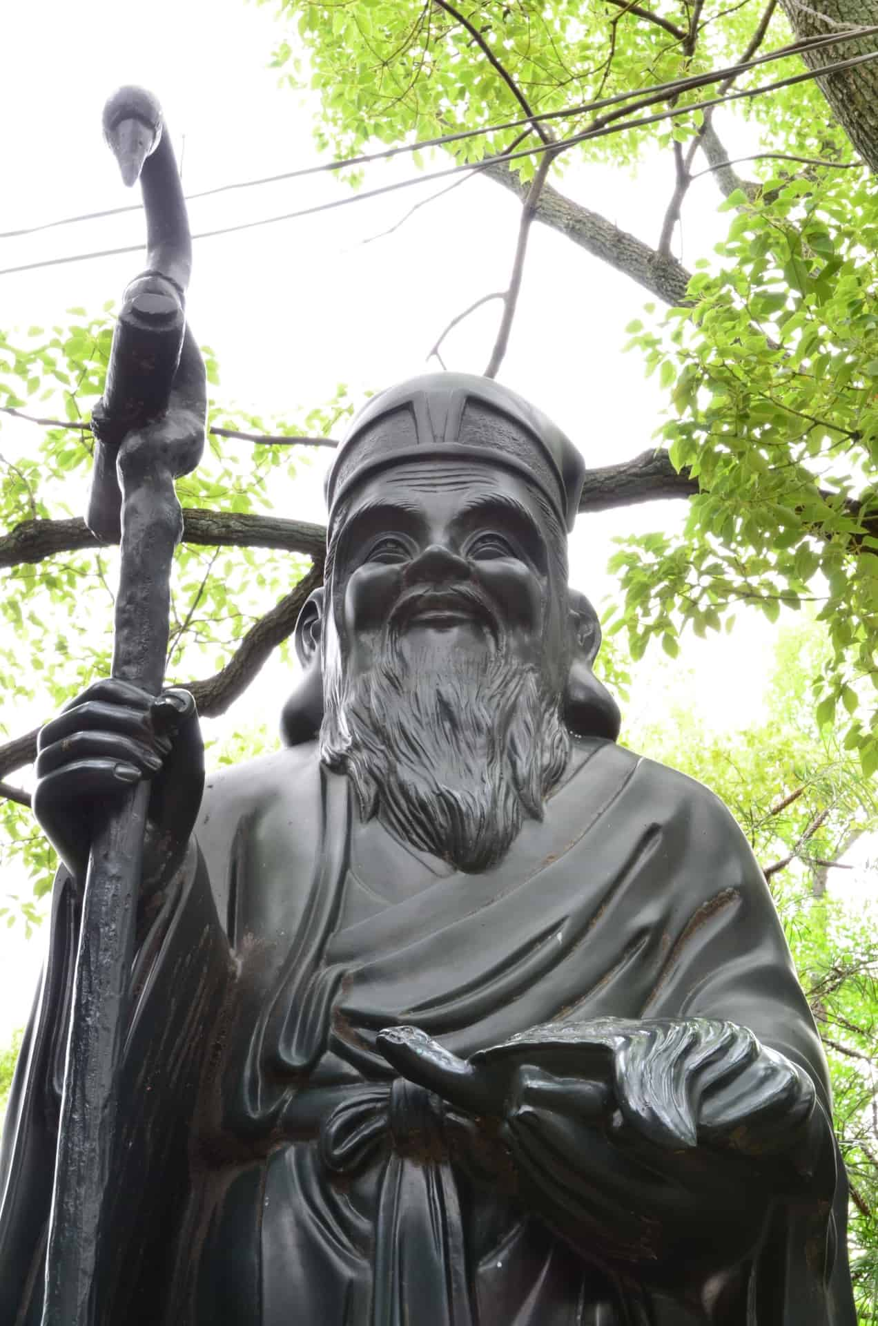 七福神の1人である寿老人(じゅろうじん)を紹介