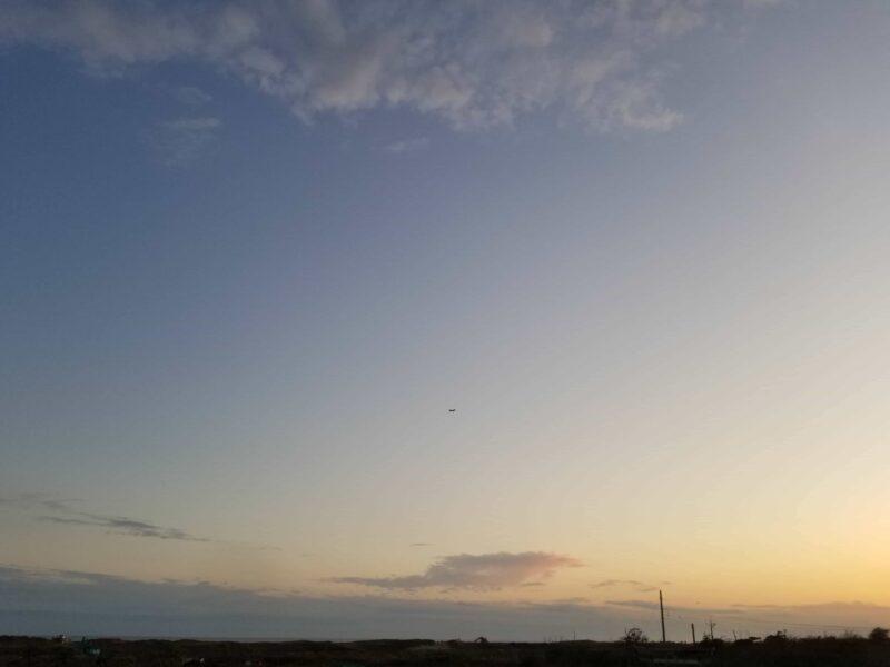 千葉県山武郡横芝光町の成田山御本尊上陸の地の眺め