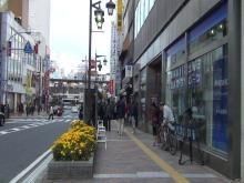 千葉県市川市の女性刺殺事件発生現場付近の状況