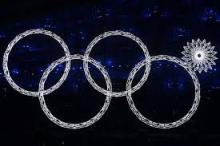 ソチオリンピックで四輪になるハプニング